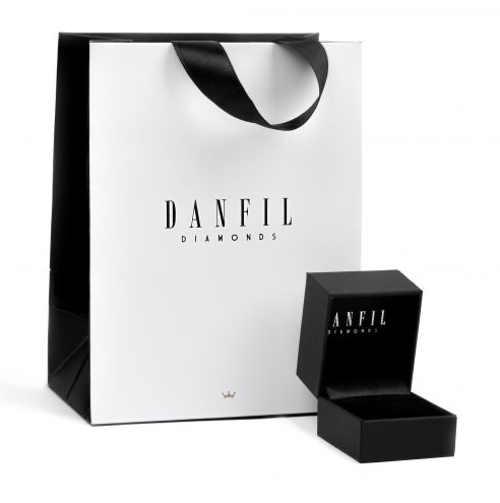 Černá krabička na šperky Danfil Diamonds