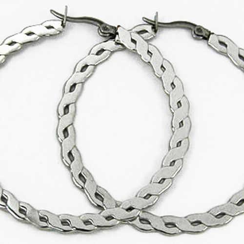 Náušnice kruhy z chirurgické oceli
