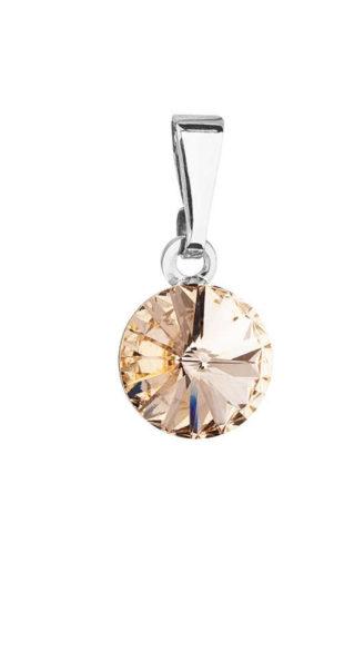 Elegantní přívěsek se Swarowski krystaly