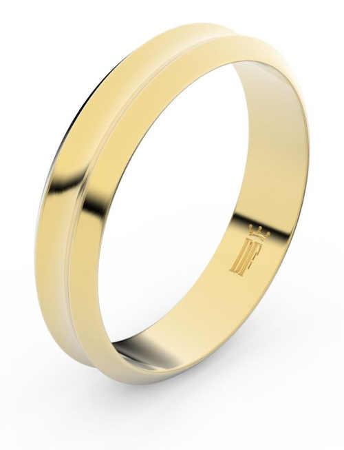 zlaté snubní prsteny v originálním zpracování