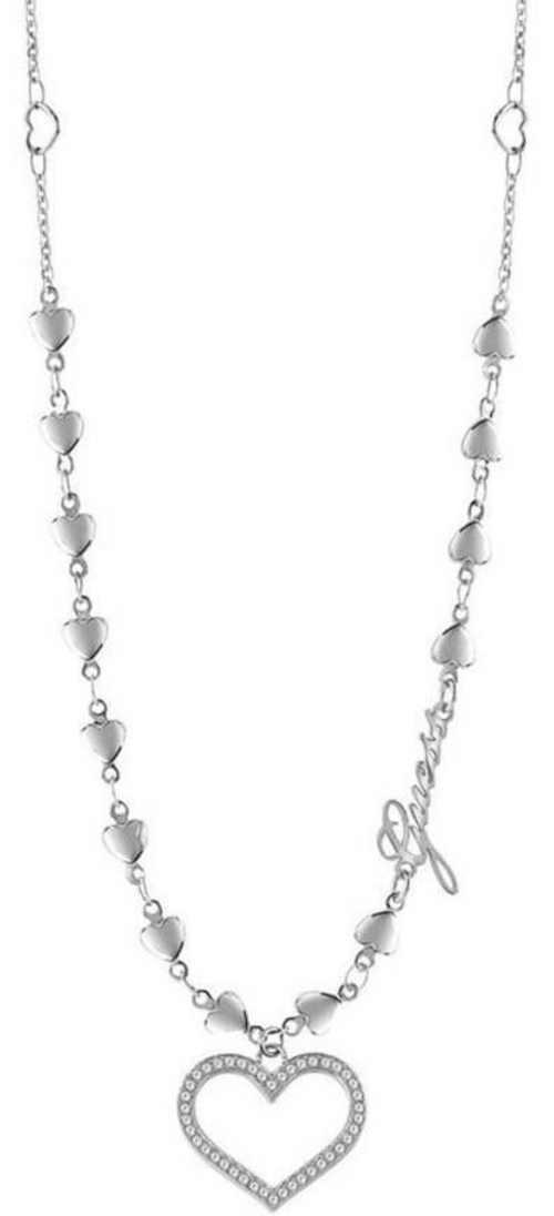 Moderní srdíčkový náhrdelník od značky Guess