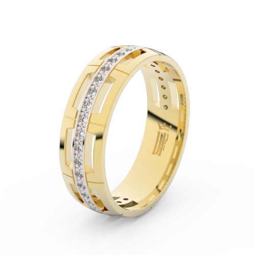 moderní snubní prsteny ze zlata