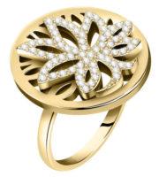 Pozlacený dámský prsten Strom života