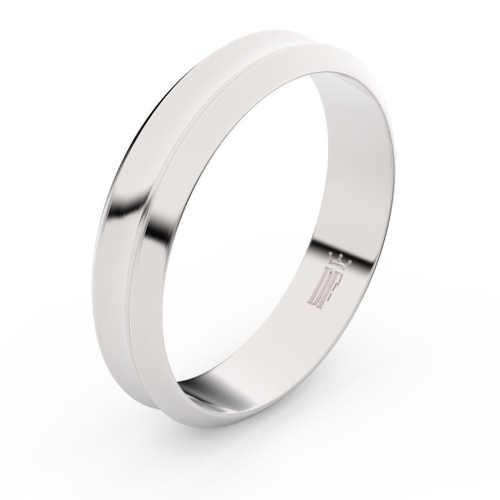 zlaté moderní snubní prsteny