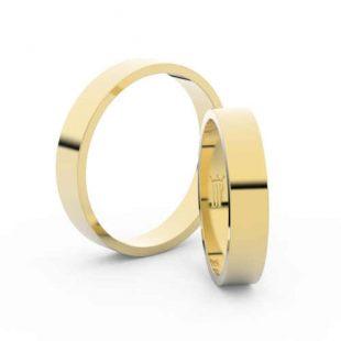 Snubní prsteny v minimalistickém designu