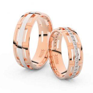 Snubní prsteny v originálním provedení