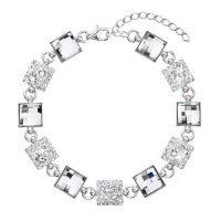 Stříbrný náramek se Swarovski krystaly