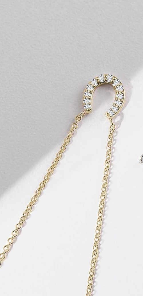 náhrdelník ve tvaru podkovy