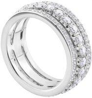 prsten zdobený krystaly Swarovski
