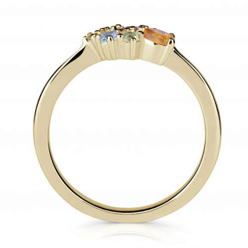 prsten ze žlutého zlata